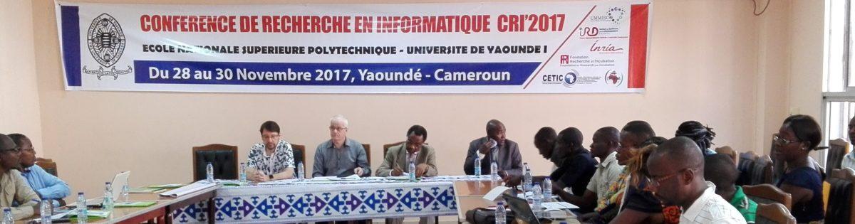 CONFERENCE DE RECHERCHE EN INFORMATIQUE CRI'2017